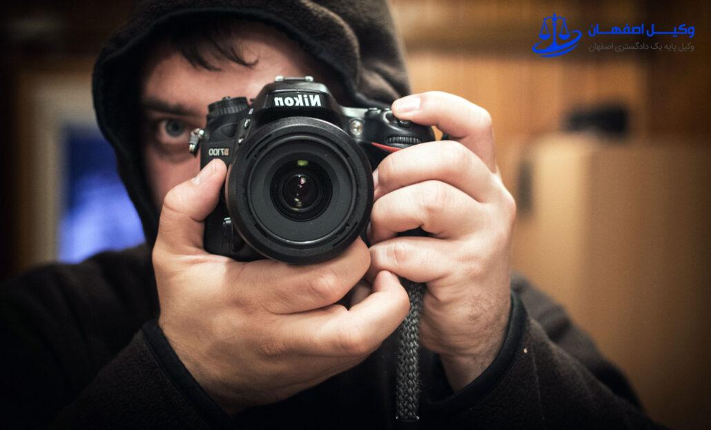 مدرک عکس و فیلم در دادگاه