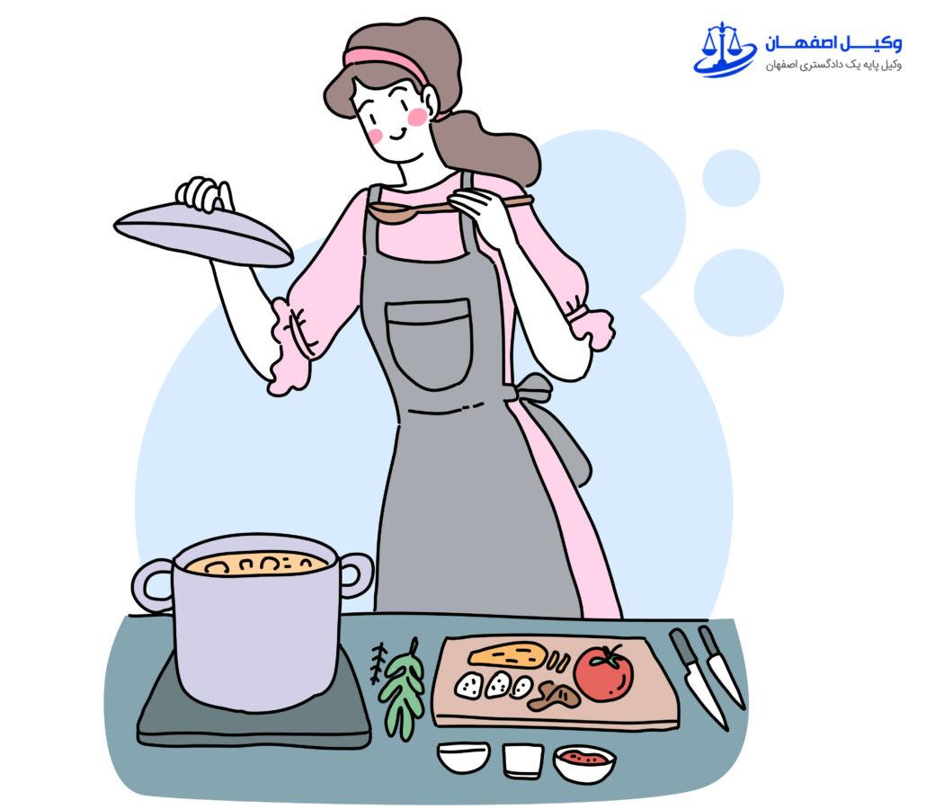 کار کردن زن در خانه از نگاه اسلام